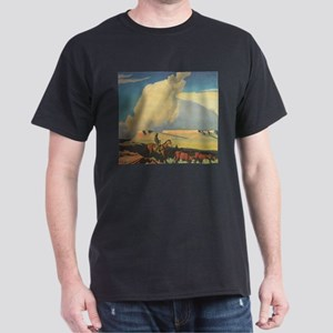 Open Range by Maynard Dixon T-Shirt