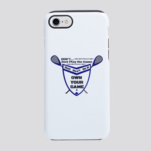 OWN YOUR GAME dbws iPhone 8/7 Tough Case