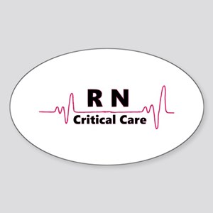 RN Critical Care Sticker