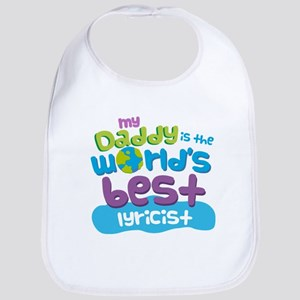 Lyricist Gifts for Kids Bib