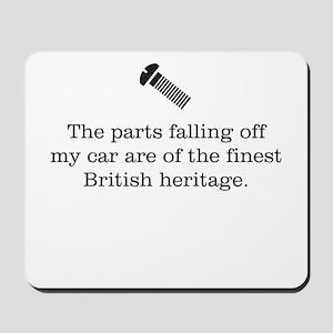 British Parts Mousepad