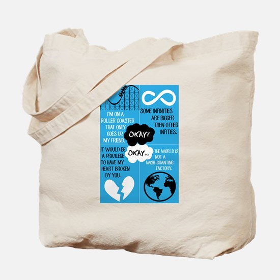 Unique The fault in our stars Tote Bag