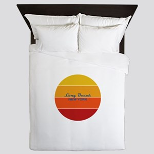 New York - Long Beach Queen Duvet