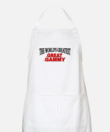 """""""The World's Greatest Great Gammy"""" BBQ Apron"""