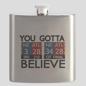 You Gotta Believe! Flask