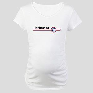 Nebraska Maternity T-Shirt