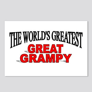 """""""The World's Greatest Great Grampy"""" Postcards (Pac"""