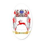 Stokley Oval Car Magnet