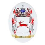 Stokley Oval Ornament