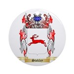 Stokley Round Ornament