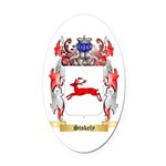 Stokely Oval Car Magnet