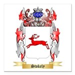 Stokely Square Car Magnet 3