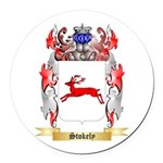 Stokely Round Car Magnet