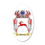 Stokely 35x21 Oval Wall Decal