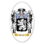 Stoke Sticker (Oval 50 pk)