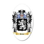 Stoke 35x21 Oval Wall Decal