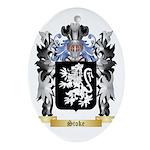 Stoke Oval Ornament