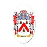 Stoffel Oval Car Magnet