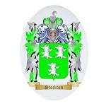 Stockton Oval Ornament