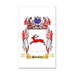Stockley Rectangle Car Magnet