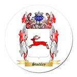 Stockley Round Car Magnet