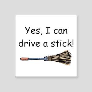 I Can Drive A Stick Sticker