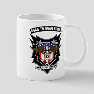 Born to Roam Eagle USA Mug