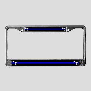 South Carolina Police License Plate Frame