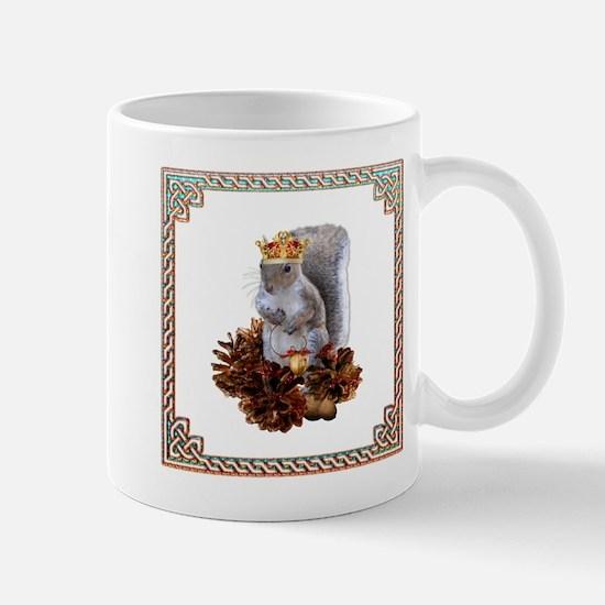 Squirrel King Mugs