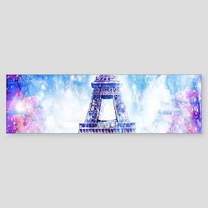 Rainbow Universe Paris Bumper Sticker