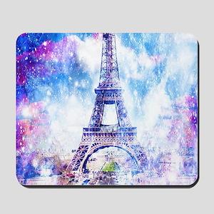 Rainbow Universe Paris Mousepad