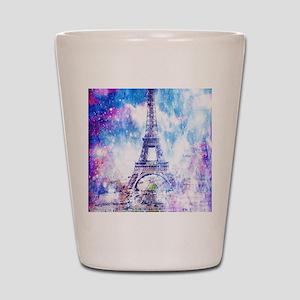 Rainbow Universe Paris Shot Glass