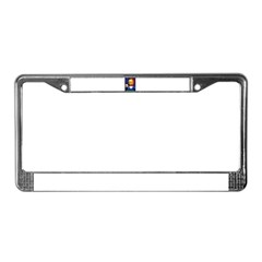 Absinthe Liquor Drink License Plate Frame