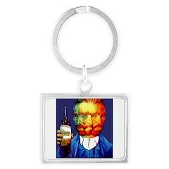 Absinthe Liquor Drink Keychains