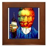 Absinthe Liquor Drink Framed Tile