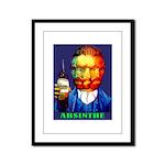Absinthe Liquor Drink Framed Panel Print