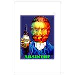 Absinthe Liquor Drink Poster