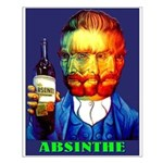 Absinthe Liquor Drink Small Poster