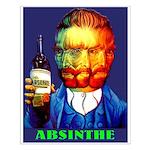 Absinthe Liquor Drink Small Poster