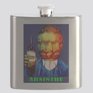 Absinthe Liquor Drink Flask