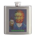 Absinthe Liquor Drink Flask