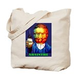 Absinthe Liquor Drink Tote Bag