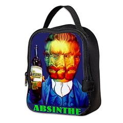 Absinthe Liquor Drink Neoprene Lunch Bag