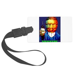 Absinthe Liquor Drink Large Luggage Tag