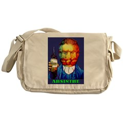 Absinthe Liquor Drink Messenger Bag