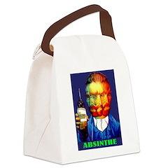 Absinthe Liquor Drink Canvas Lunch Bag