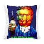 Absinthe Liquor Drink Everyday Pillow