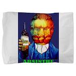 Absinthe Liquor Drink Pillow Sham