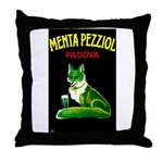 Menta Pezziol Padova Aperitif Liquor Throw Pillow