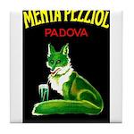 Menta Pezziol Padova Aperitif Liquor Tile Coaster